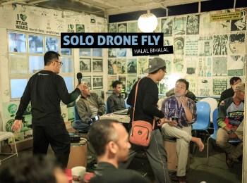 Solo Drone Fly Halal Bihalal