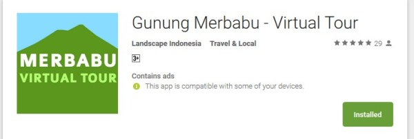 gunung merbabu virtual tour