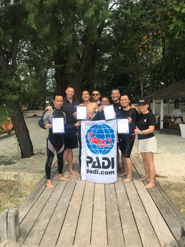 idc 3 - Road to Become PADI Instructor