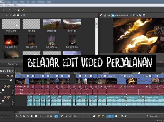 belajar edit video - Belajar Edit Video Perjalanan