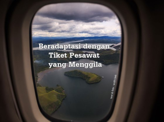 tiket pesawat menggila - Beradaptasi dengan Tiket Pesawat yang Menggila