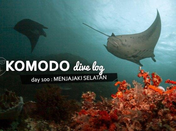 komodo100 web - Komodo Diving Log Day 100 : Menjajaki Selatan (bagian 1)