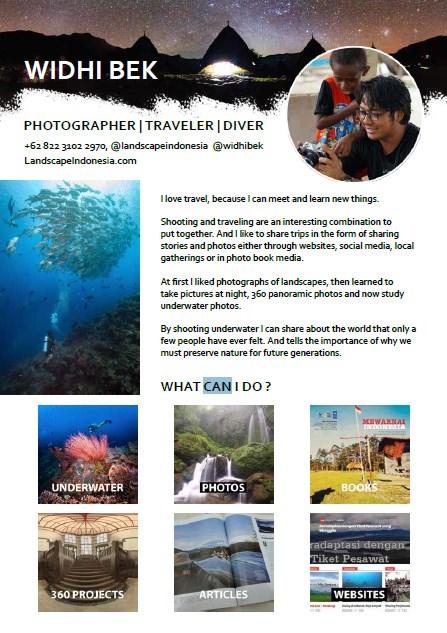 portfolio, dengan kamera berkeliling Indonesia
