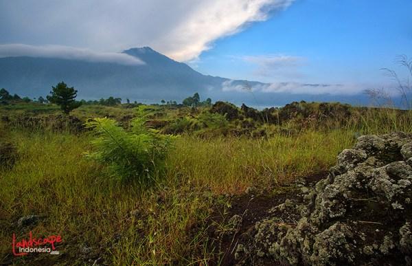 salah satu sudut gunung Batur