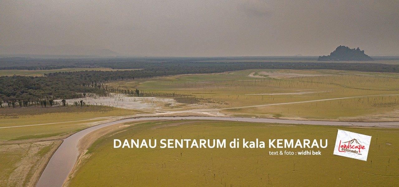 danausentarum kemarau 0 - Danau Sentarum di kala Kemarau