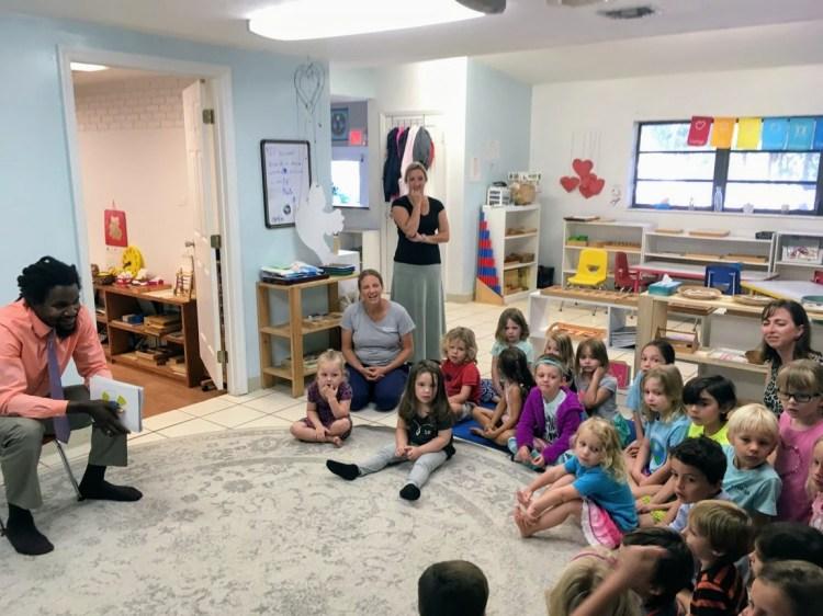 Presentation by LIAF Broward County BOD Member Indyli Brown at Montessori Academy of the Upper Keys
