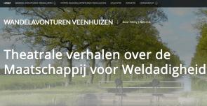 Wandelavonturen website in een nieuw jasje