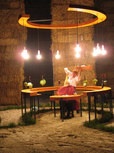 Food and stage design