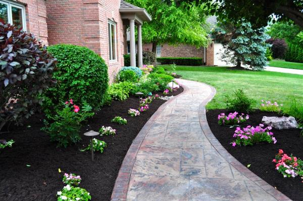 dyed brown mulch bags indianapolis