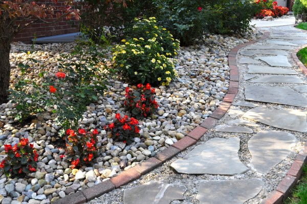 gray flagstone indianapolis decorative