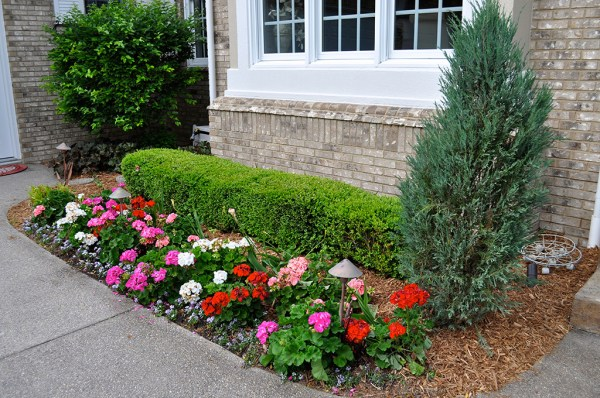 cypress mulch landscaping