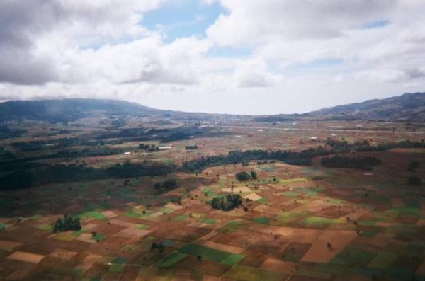 patchwork landscape guatemala