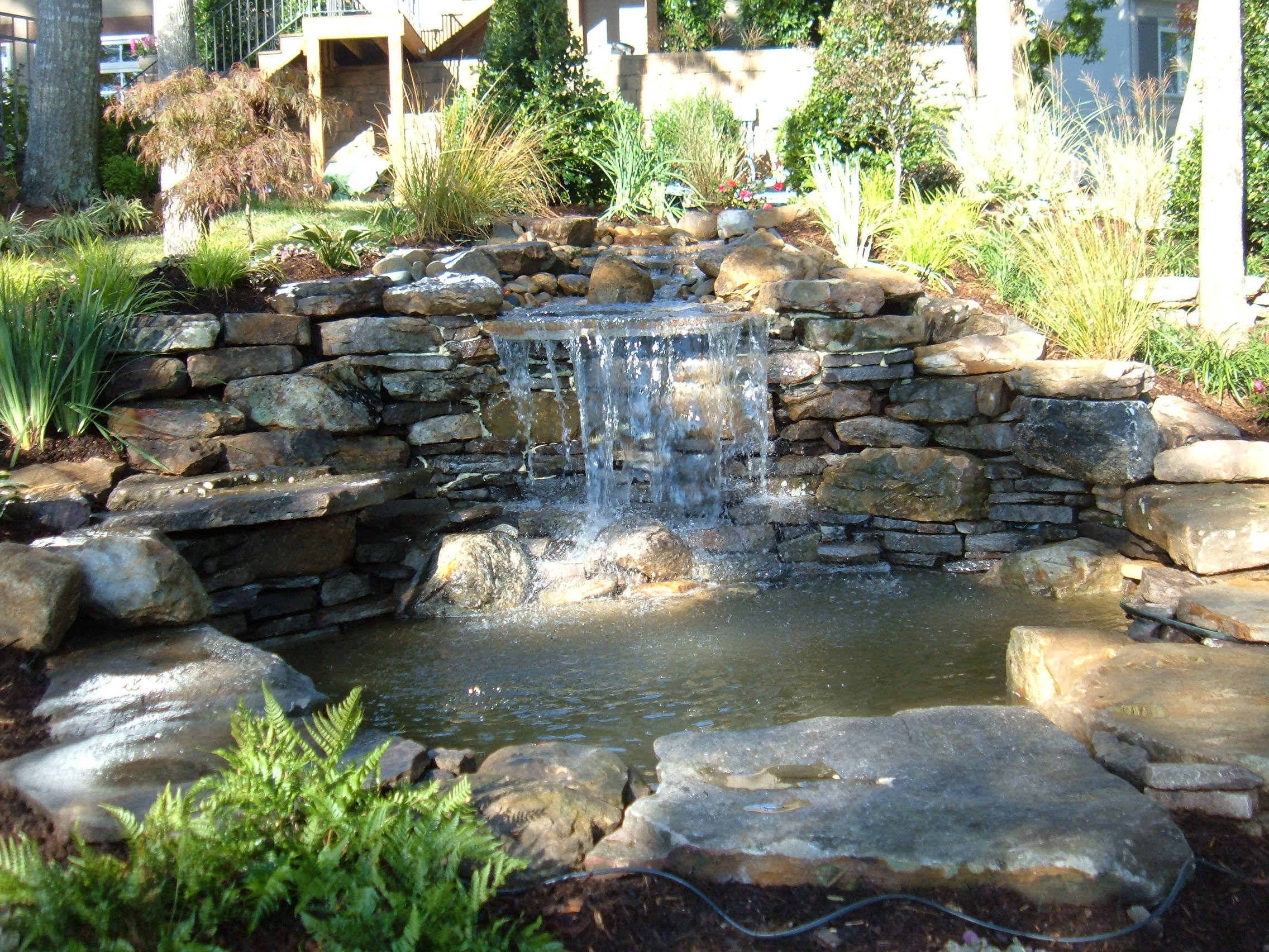 Inspirational Landscaping Ideas Backyard Waterfalls Landscaping I