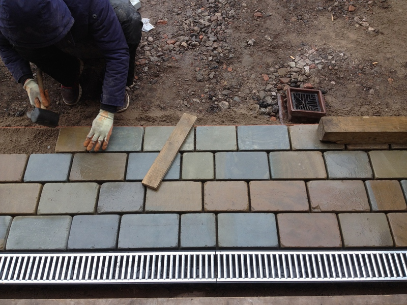 Dempsey Landscaping Liverpool  Natural stone Driveway