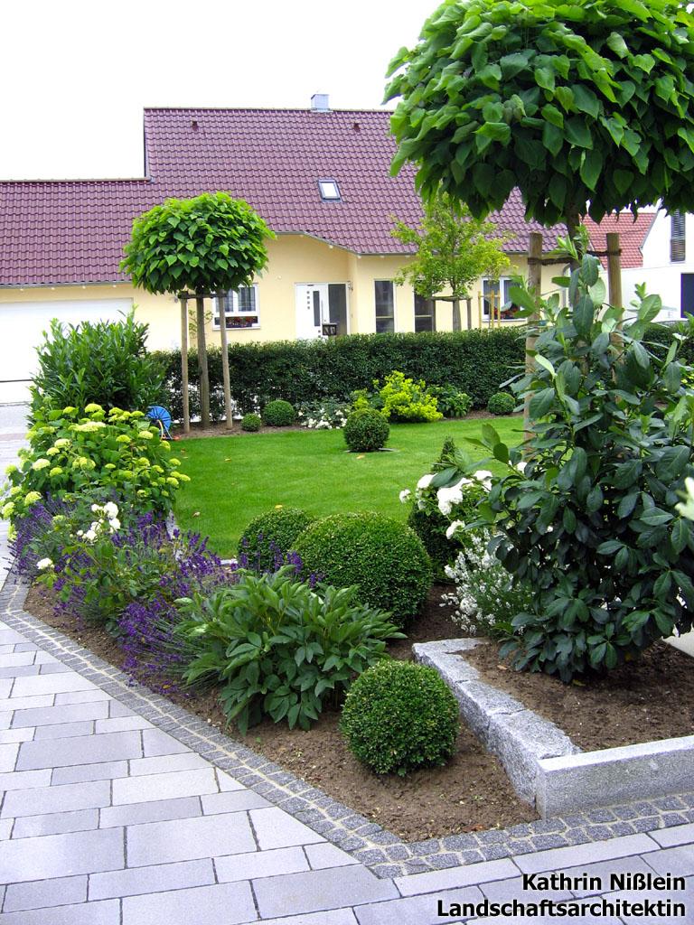 Landschaftsarchitektin Kathrin Nilein  Referenzen  Hausgarten in Obermichelbach