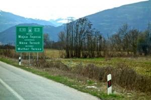 The Mother Teresa motorway