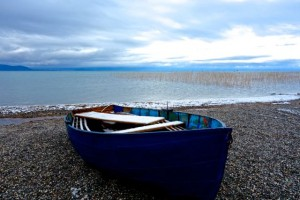 Lovely Lake Ohrid in southwestern Macedonia