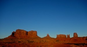 Iconic Monument Valley vista