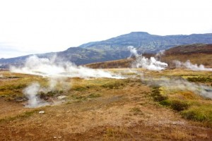 Geysirs in Geysir, Iceland!