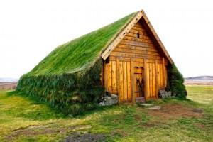 Original dwelling in Skalholt