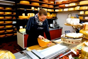 Woerden is known for its cheese