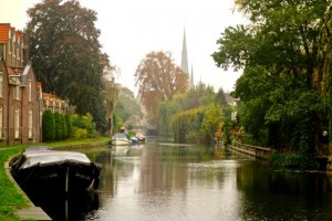 Outer canal in Woerden