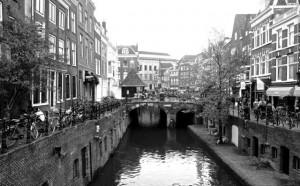Charming canals of Utrecht