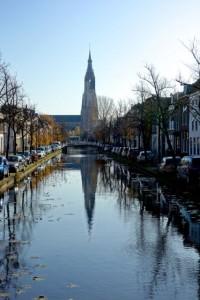 Oldkerk steeple tilts slights