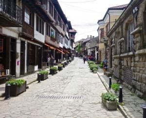 Old Veliko Tarnovo streets