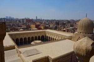 Overlooking Cairo from the Bab Zuweila minarets