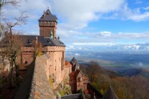 Imposing Haut Koenigsbourg