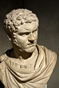 Bust of Tiberius found in the Gallo-Roman Museum