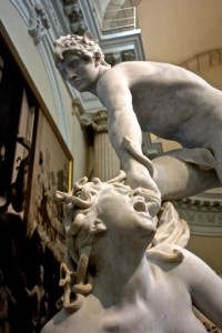 Perseus and Medusa in the Museum of Fine Arts