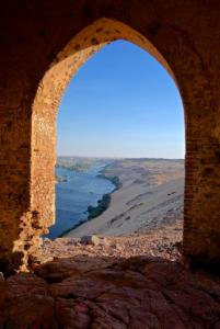 Overlooking the Tomb of the Nobles and the Nile