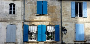 Spectacular colors of Arles