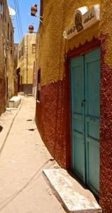 Nubian village on Elephantine Island