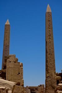 Thotmes III and Queen Hatshepsut obelisks