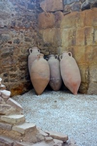 Amphorae within the Roman Forum