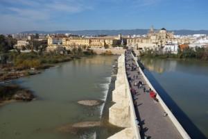 Roman bridge and gate to the city