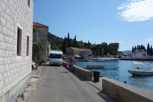 "The ""highway"" that surrounds Kotor bay"