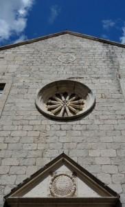 Gospa od Zdravlja church on the hill above Kotor