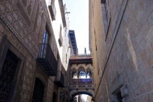 Passageways above the streets