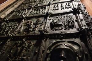 Bronze doors at Basilica San Zeno
