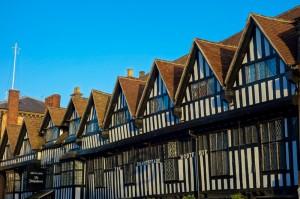Stratford-upon-Avon timbered houses