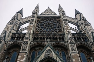 The Rose window at Westminster Abbey