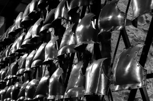The armory at Tower of London