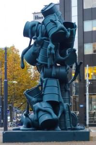 Street art abounds in Rotterdam