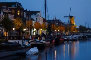 Delfshaven = old Rotterdam