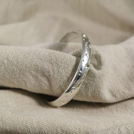 Collection Galaxie Bracelet argent