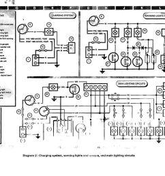 charging system warning lights gauges main lighting circuits jpg [ 1024 x 768 Pixel ]